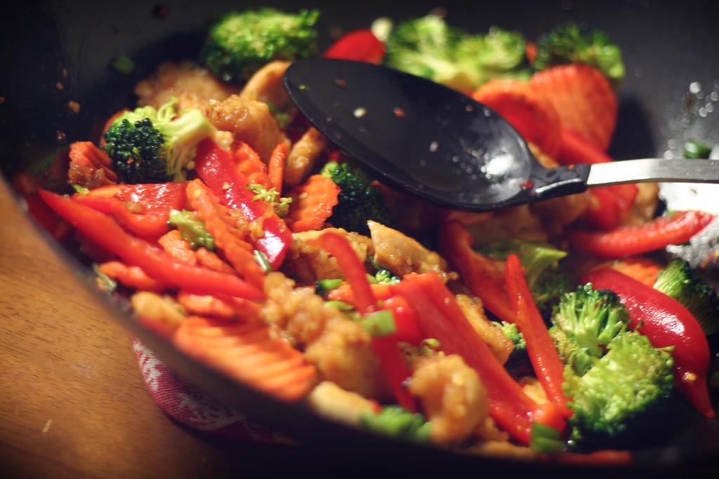 home made healthy food